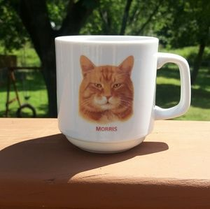 Morris the Cat White 10 oz Mug